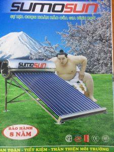 Máy nước nóng năng lượng mặt trời SUMOSUN