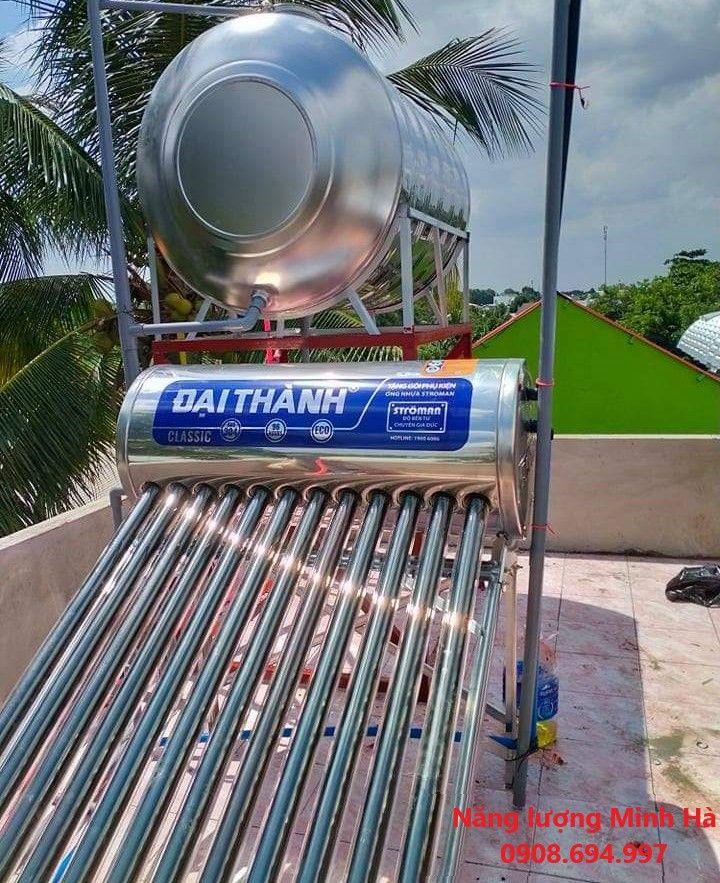 Máy nước nóng năng lượng mặt trời Đại Thành 130 lít