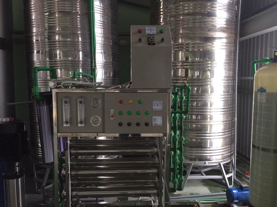 Máy lọc nước dạng công nghiệp công xuất 1500L/h