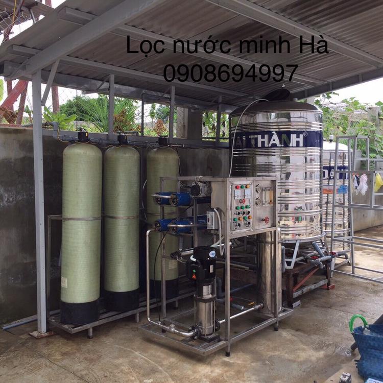 Máy lọc nước tinh khiết dạng công nghiệp 500 lít/giờ