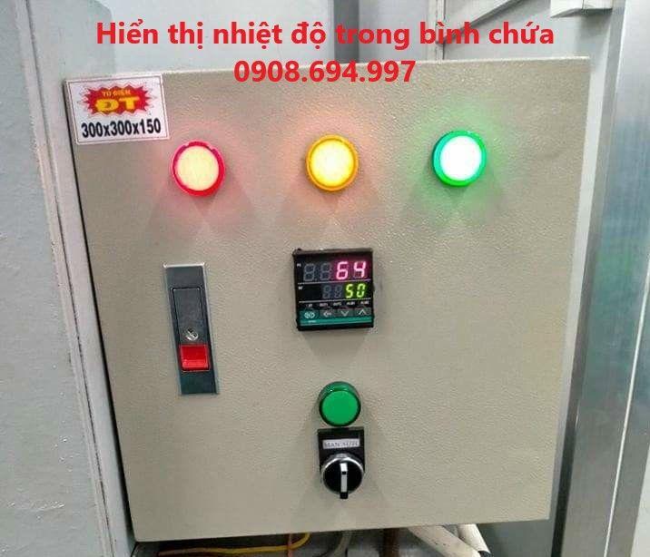 Máy nước nóng năng lượng mặt trời 1500L Bình Minh.