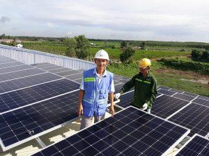 Pin mặt trời hòa lưới công xuất 4 kw