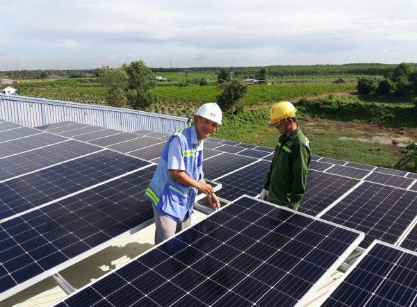 Pin năng lượng mặt trời hòa lưới 3Kw