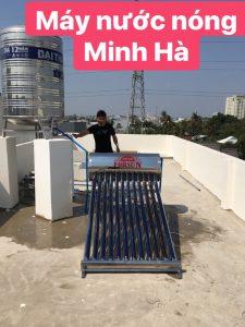 Máy nước nóng năng lượng mặt trời Thủ Dầu Một
