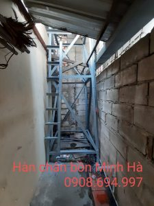 Dịch vụ hàn chân bồn nước Hồ Chí Minh