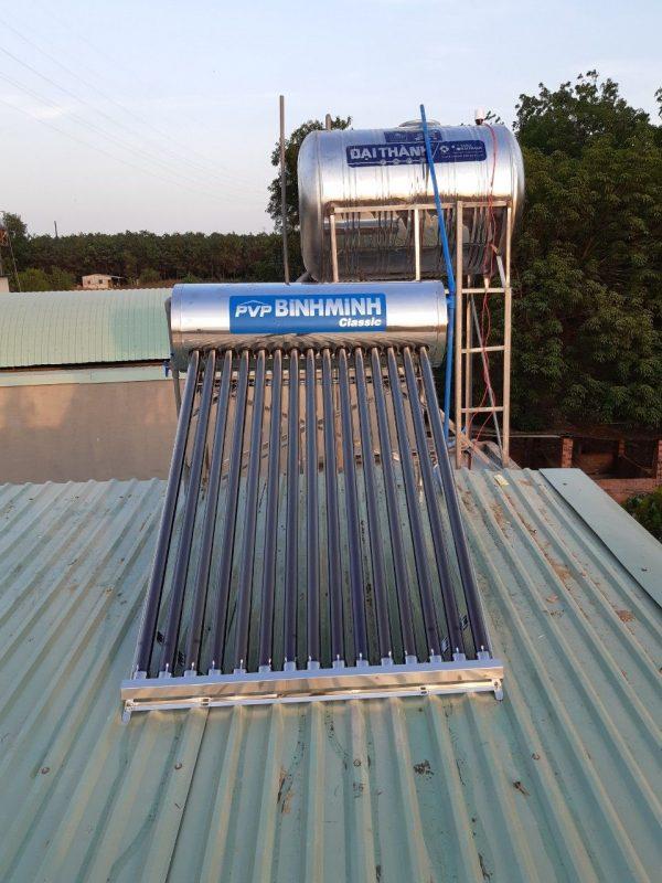 Máy nước nóng năng lượng mặt trời Bình Minh 160 lít