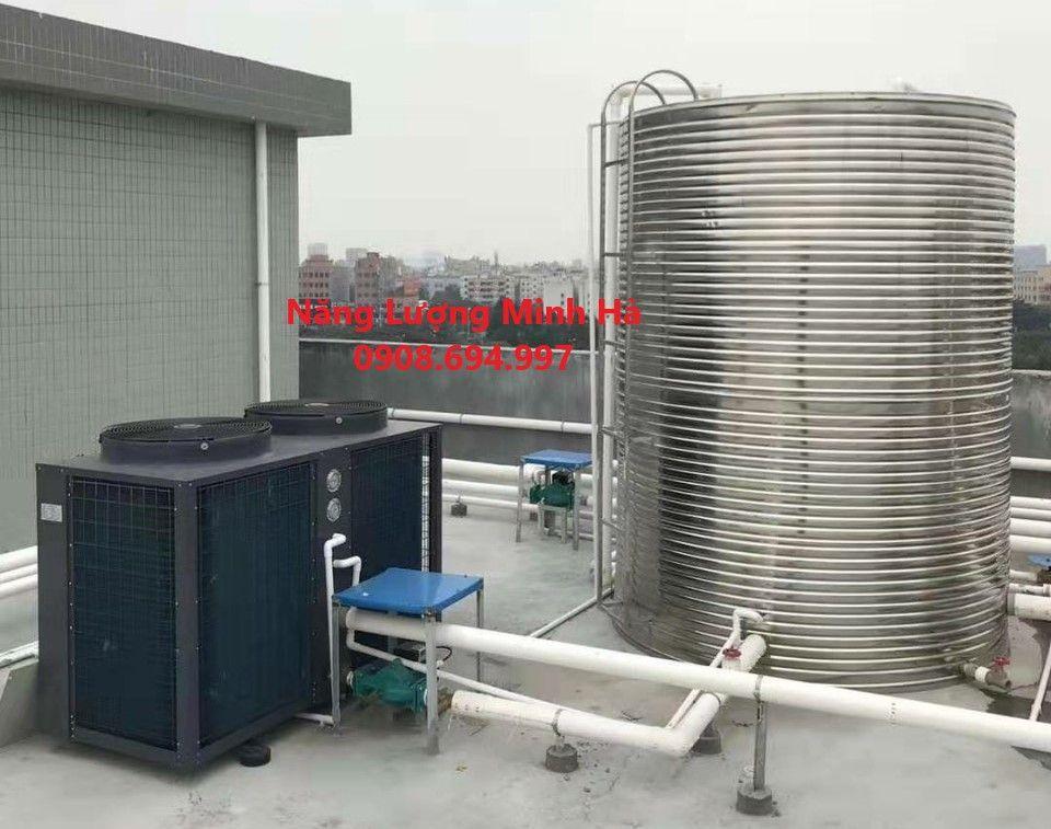 Máy nước nóng năng lượng mặt trời 5000L Bình Minh