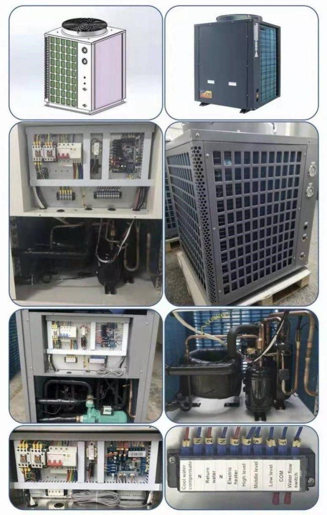 Bơm nhiệt Heat pump Công nghiệp 3HP