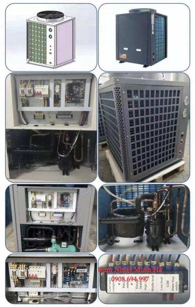 Máy nước nóng Heat Pump 5HP