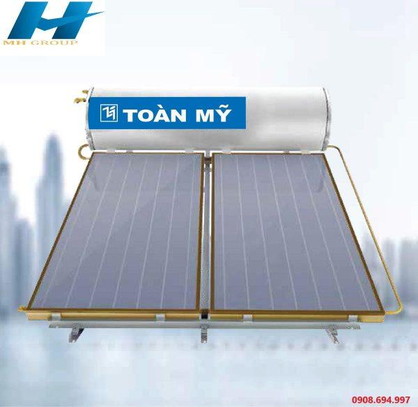 Máy nước nóng năng lượng mặt trời Toàn Mỹ Tấm Phẳng 300L