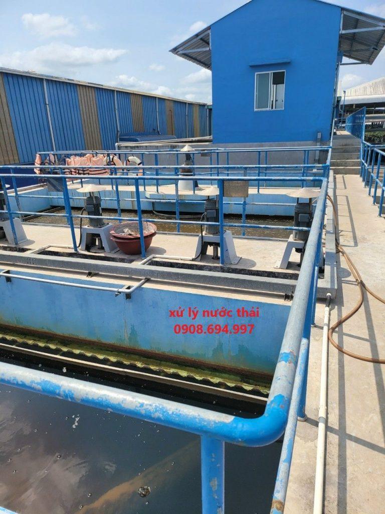 xử lý nước thải công nghiệp tại Bình Dương